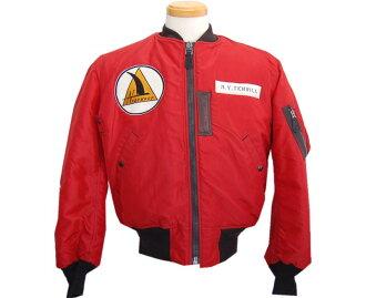 Buzz Rickson's (バズリクソンズ) flight jacket JACKET FLYING INTERMEDIATE TYPE RED MA-1 (NORTHROP)