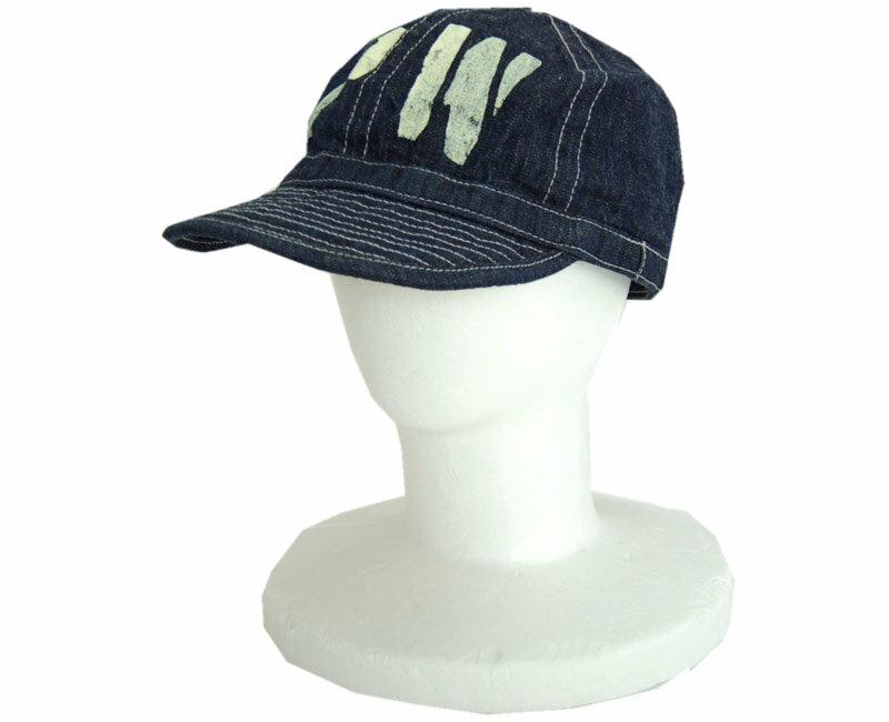"BUZZ RICKSON´Sバズリクソンズ 帽子 ARMY DENIM CAP ""PW"" STENCIL (ワンウォッシュ)"
