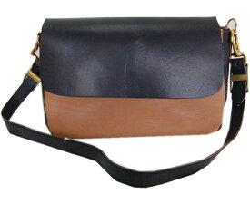 DAPPER'Sダッパーズ バック Combination Leather Mini Shoulder Bag LOT1190(BLACK(BROWN BASE)/BRANDY)