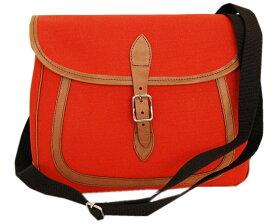 DAPPER'Sダッパーズ バック Leather×Canvas Combination Mini Shoulder Bag LOT1255(TERRACOTTA )
