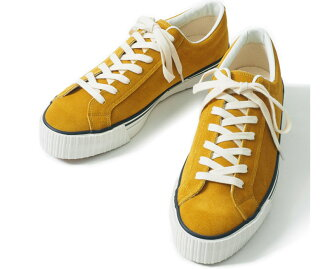 WAREHOUSE服装房屋3400 SUEDE SNEAKER(MUSTARD)