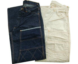 COPPER KING カッパーキング 【COPPER KING】 CARPENTERS PANTS ホワイトツイル