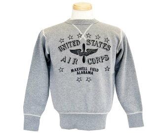Buzz Rickson's(bazurikusonzu)運動衫SET-IN-4-NEEDLE UNITED STATES AIR CORPS
