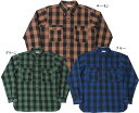 WAREHOUSE ウエアハウス 3022 FLANNEL SHIRTS WITH CHINSTRAP NON WASH 2020