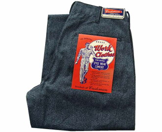 库什曼库什曼牛仔裤黑色色织青年布长裤