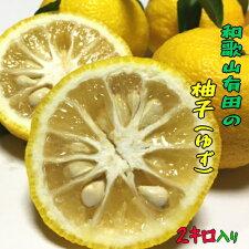 みずみずしさ満点の有田産柚子