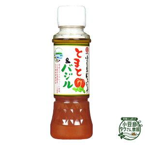 小豆島ドレッシング とまと&バジル (PET) 200ml [ トマト バジル ばじる 小豆島 ドレッシング ご自宅用 ]