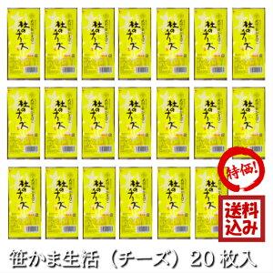 【定期購入】 武田の笹かまぼこ 笹かま生活(チーズ) 20枚入 (真空包装)