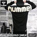 SALE セール ヒュンメル スウェット 上下 メンズ hummel ビッグロゴ フード付き・裏毛 アウトレット|スポーツウェア …