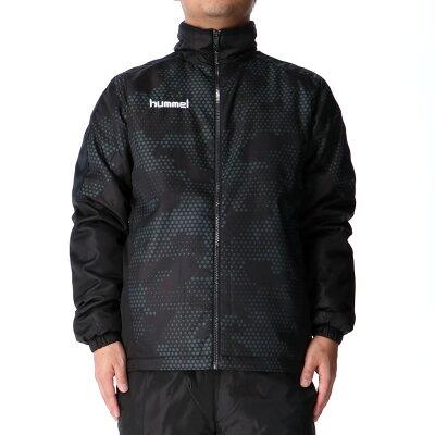 ヒュンメルウインドブレーカー上下メンズhummel防寒保温中綿入りHAW2075