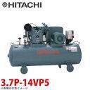 日立産機システム 中圧ベビコン 圧力開閉器式 3.7P-14VP5 3.7kW 三相200V 50Hz