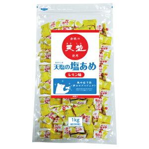 天塩の塩あめ レモン味 1kg パック(約240粒) 熱中飴 業務用サイズ