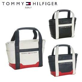 【月間優良ショップ受賞】 トミーヒルフィガー ゴルフ ラウンドバッグ ミニ トートバッグ メンズ レディース ホワイト ネイビー レッド ブラック THMG7SB2 TOMMY HILFIGER GOLF ザ フェイス