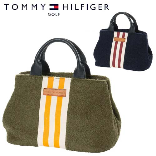 トミーヒルフィガーゴルフストライプ ラウンド トート ROUND TOTE【THMG7FBE】TOMMY HILFIGER GOLF【newyear_d19】【あす楽対応】
