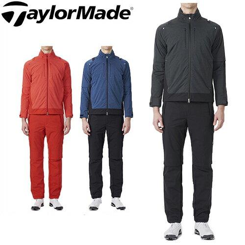 テーラーメイド ゴルフ レインスーツ メンズ レインウェア 上下セット TaylorMade 【KL927】【あす楽対応】【smtb-f】