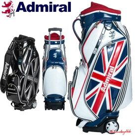 【キャッシュレス5%還元】 アドミラル ゴルフ メンズ キャスター付き キャディバッグ 9.5型 約4.5kg 8分割 46インチ対応 ADMG0SC6 Admiral Golf