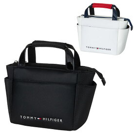 トミーヒルフィガー ゴルフ ラウンドバッグ メンズ レディース バッグ ゴルフバッグ ファスナー ポケット 収納 TOMMY HILFIGER GOLF 白 黒 THMG1FBE