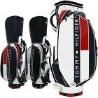 【月間優良ショップ受賞】 トミーヒルフィガー ゴルフ メンズ キャディバッグ 9型 4.7kg 6分割 フェイス THMG7SC1 TOMMY HILFIGER GOLF