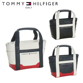 トミーヒルフィガーゴルフ ラウンドバッグ メンズ レディース ミニ トートバッグ ザ フェイス 白 ホワイト 黒 ブラック 紺 ネイビー TOMMY HILFIGER GOLF THMG7SB2