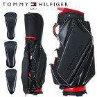 【月間優良ショップ受賞】 トミーヒルフィガー ゴルフ メンズ キャディバッグ ヘッドカバー3点付属 9型 4.8kg 5分割 カートバッグ THMG9FC1 TOMMY HILFIGER