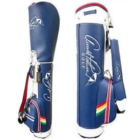 【月間優良ショップ受賞】 アーノルドパーマー ゴルフ メンズ レディース キャディバッグ 軽量 8型 約2kg 5分割 レア ブランド キャディバック APCB-17F