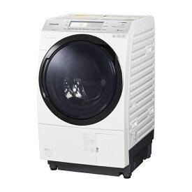 基本設置無料 東京23区近郊限定配送 パナソニック 10kg 左開き ドラム式洗濯乾燥機 NA-VX700AL-W クリスタルホワイト NAVX700AL