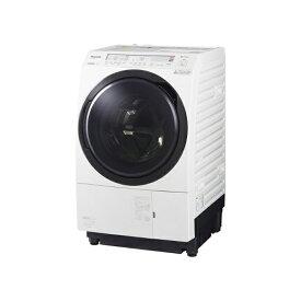 東京 埼玉 千葉 神奈川エリア限定 標準設置込 条件付きで処分無料 パナソニック NA-VX800BL-W ななめドラム洗濯乾燥機 11kg 左開き クリスタルホワイト
