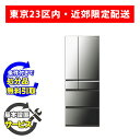 【基本設置無料】パナソニック 501L 観音開き6ドア冷蔵庫 NR-F502XPV-X オニキスミラー 23区近郊限定配送