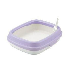 リッチェル コロル 猫トイレ用48 パープル ペット用品 猫トイレ 猫砂 ベントナイト 紙砂 おからの猫砂|
