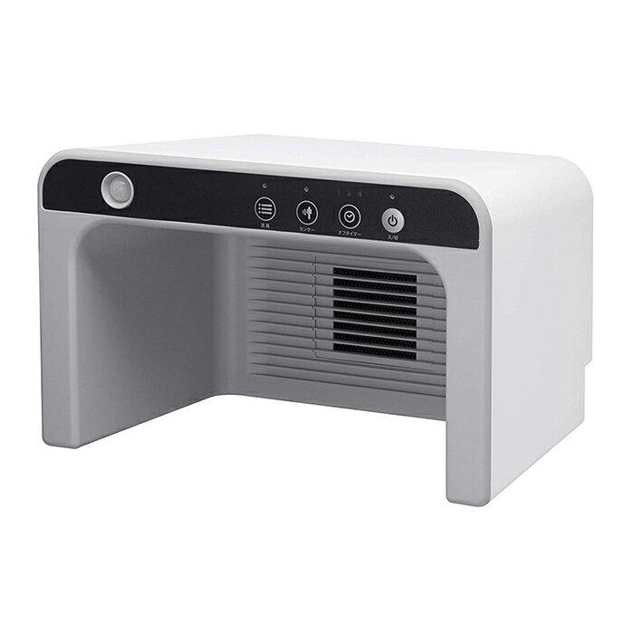 送料無料 スリーアップ CH-T1834-WH ホワイト 人感センサー付 ぽかぽか足湯ヒート Three-up CHT1834 暖房器具 暖房機器 電気ヒーター フットヒーター 小型 コンパクト 足元 オフィス デスク下