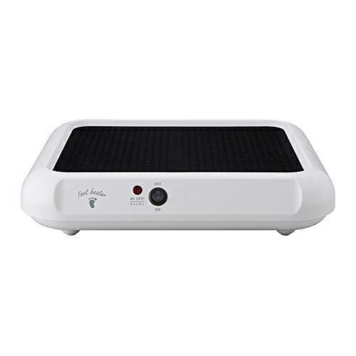 送料無料 アピックス AFH-118-WH ホワイト フットヒーター APIX AFH118 暖房器具 暖房機器 電気ヒーター 足置き 足元 薄型 オフィス デスク下