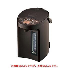 送料無料 象印 CV-GB22-TA ブラウン マイコン沸とう VE電気まほうびん ZOJIRUSHI CVGB22 優湯生 電気ポット 2.2L|電気魔法瓶 湯沸かし器 保温付き 電気保温ポット