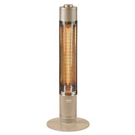 【送料無料】山善 グラファイトヒーター DCTS-A091/N シャンパンゴールド|暖房器具