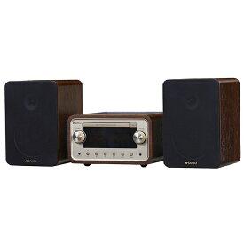 【送料無料】SANSUI/サンスイ SMC-300BT Bluetooth機能搭載 CDステレオシステム 【DOSHISHA SMC300BT】 真空管ハイブリッド