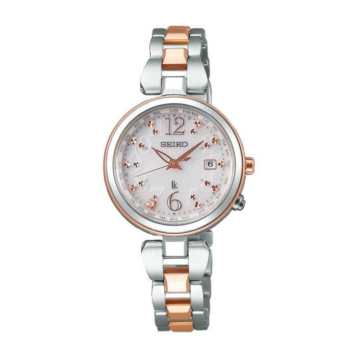 【送料無料!】セイコー SSQV048 レディース腕時計 ルキア