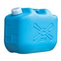 JISマーク付 ポリタンク 灯油缶 10L ブルー