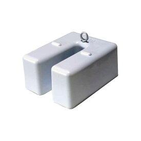 「テント」 「看板」 「転倒防止」 「重しに」 フック付 ベースウエイト 10kg ホワイト