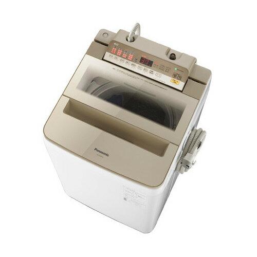 基本設置無料・埼玉・千葉・神奈川・東京都限定配送 パナソニック 8kg 全自動洗濯機 NA-FA80H6-N シャンパン Panasonic NAFA80H6N|インバーター 自動槽洗浄 泡洗浄
