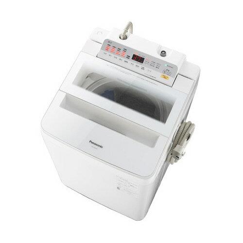 基本設置無料・埼玉・千葉・神奈川・東京都限定配送 パナソニック 8kg 全自動洗濯機 NA-FA80H6-W ホワイト Panasonic NAFA80H6W|インバーター 自動槽洗浄 泡洗浄