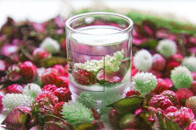 ハーバリウムアロマLEDキャンドルルームフレグランス/LEDライト芳香剤アロマプレゼント