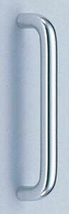 【新築工事】【戸建】【ドアハンドル】アルミを使用したドア取っ手(ハンドル) ドアハンドル アルミ丸棒取っ手 片面用 300ミリ【引戸に最適】