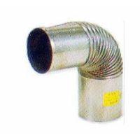 [SUS304煙突・排気筒]SUS304ステンレスエビ曲φ106厚み0.3mm