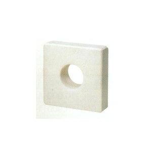 [SUS430煙突・排気筒]壁面断熱材ALCメガネ石穴口径〜130mm(穴口径選択)厚み100mm