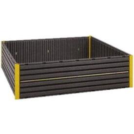 樹脂製 堆肥枠 AC-1800 1800mm×1800mm×高さ488mm (法人個人選択) コダマ樹脂 yuas[堆肥わく 堆肥ワク 土 肥料 瀧商店]