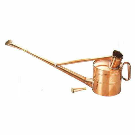 銅製 英国式ジョーロ6号 英国型如雨露 斜口・直口 根岸産業 【smtb-ms】[如露 じょうろ ジョロ 瀧商店]