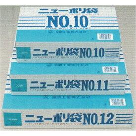 福助 ニューポリ袋No.12 厚み0.03mm ケース4,000枚単位(巾230×長さ340mm)