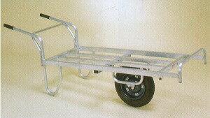 ハラックス アルミ平型一輪車 コン助 CNB-65D ブレーキ付(法人個人選択)