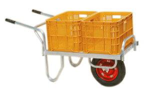 ハラックス コン助 CN-40DX (法人個人選択) エアータイヤ (TR-13×3DX) ブレーキ無 アルミ製 平型一輪車