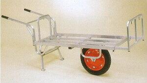 ハラックス アルミ製平型一輪車 コン助 CN-65DU スタンド跳ね上げタイプ (法人個人選択)
