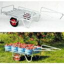 ハラックス アルミ製 大型リヤカー万能タイプ 輪太郎BS-1108積載量120kg (法人個人選択)